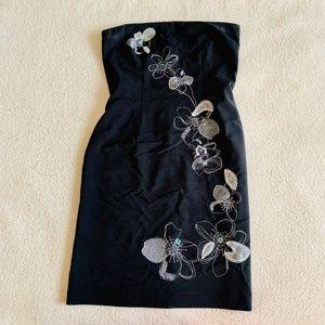 New York & Co. Black strapless dress